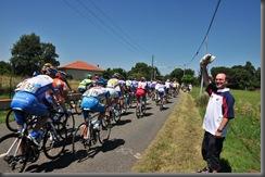 Tour de France peloton 5